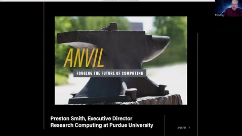 Thumbnail for entry XSEDE Webinar:  An Introduction to Anvil at Purdue