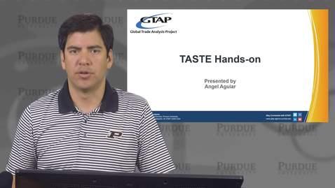 TASTE Hands-on