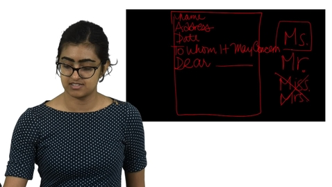 Thumbnail for entry Lecture 5: Resumes and Cover Letters