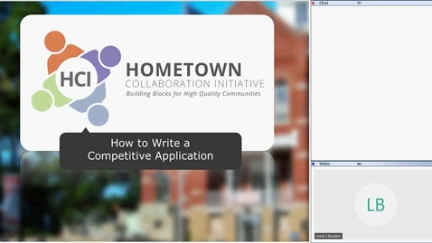 Thumbnail for entry How to Write a Competitive HCI Application, October 3, 2016