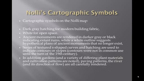 Thumbnail for entry Nolli map cartographic symbols