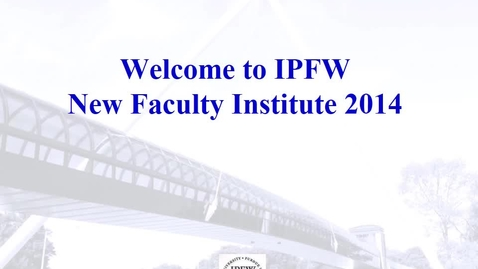 Thumbnail for entry New Faculty Information.mp4