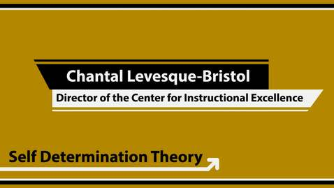 Thumbnail for entry What is Self-Determination Theory?
