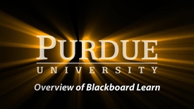 Thumbnail for entry Step 1 of 4 - Blackboard Self-Service Series (4:54)