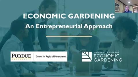 Thumbnail for entry Economic Gardening Webinar