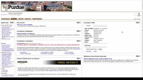 Thumbnail for entry myPurduePlan Overview
