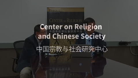 Thumbnail for entry Video: Interview with Pastor Wang Yi 10-2-15