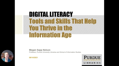 Thumbnail for entry Introduction to Digital Literacy