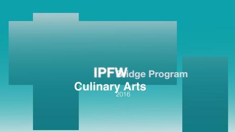 Thumbnail for entry Bridge Program Culinary PPT