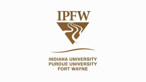 Thumbnail for entry IPFW Video