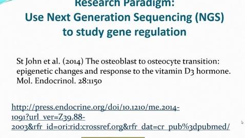 Thumbnail for entry DNA-seq dataset description for on-line course