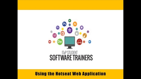 Using the Hotseat Web Application