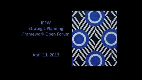 Thumbnail for entry Framework Forum