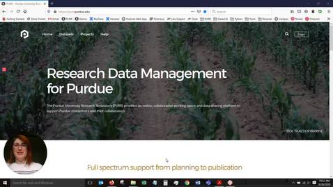 Thumbnail for entry Purdue University Research Repository Introduction
