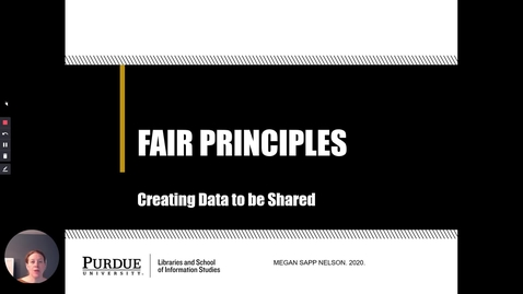 Thumbnail for entry FAIR Principles