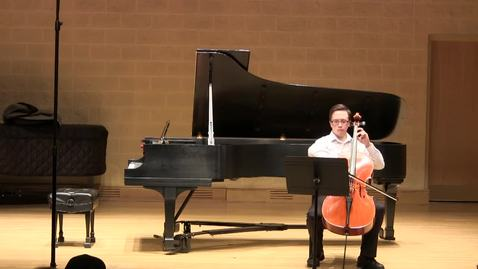 Thumbnail for entry Chris Minning: Bach Cello Suite in C BWV 1009