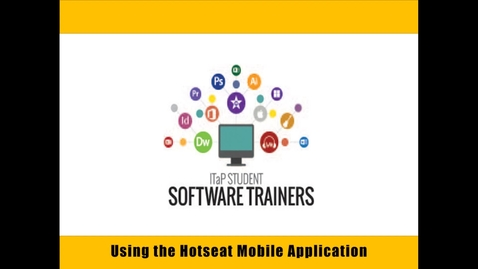 Using the Hotseat Mobile Application