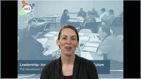 Thumbnail for entry HCI Building Block Options: Investing in Your Community's Leadership