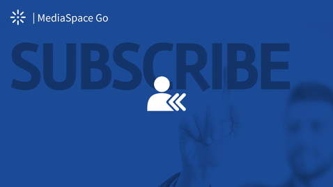 Thumbnail for entry How to Subscribe to a Channel