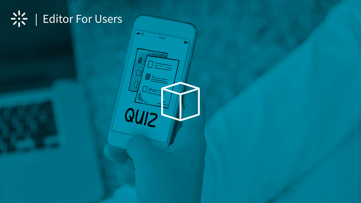 How to Create a Quiz Using Kaltura Editor
