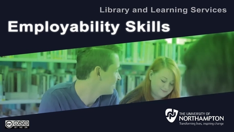 Thumbnail for entry Employability Skills
