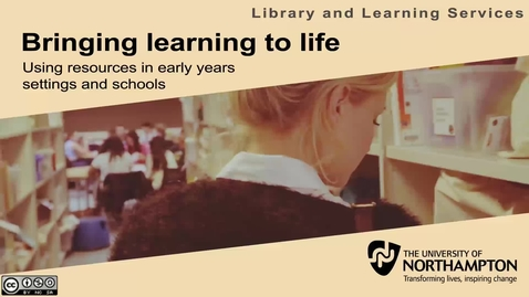 Thumbnail for entry Bringing learning to life