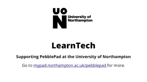 Thumbnail for entry How to log into Pebblepad