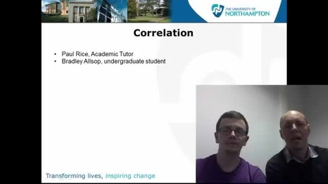 Thumbnail for entry Correlation