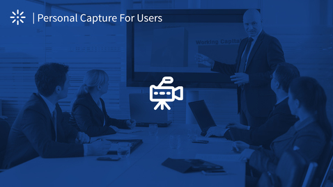 Thumbnail for entry How to Set and Create a Presentation Recording with Kaltura Personal Capture