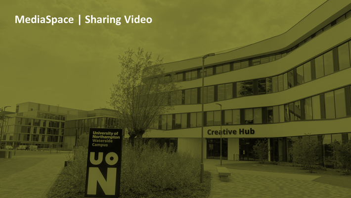 How can I share my video with a colleague?