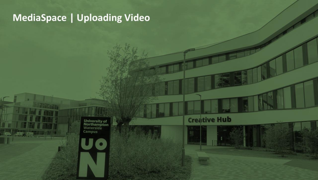 How do I upload a video to MediaSpace?