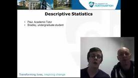Thumbnail for entry Descriptive Statistics