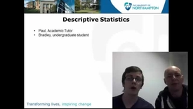 Thumbnail for entry Descriptive Statistics