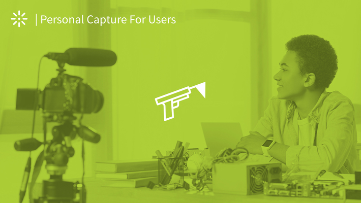 Getting Started with Kaltura Personal Capture Application