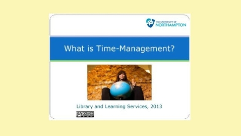 Thumbnail for entry What is Time-Management
