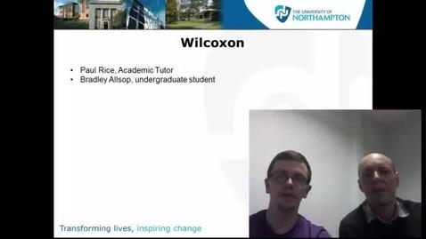 Thumbnail for entry Wilcoxon Test
