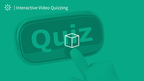 Thumbnail for entry Video Quiz - Taking a Quiz