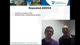 Thumbnail for entry Repeated ANOVA