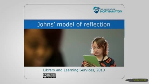 Thumbnail for entry Johns Model of Reflection