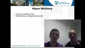 Thumbnail for entry Mann Whitney test