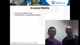 Thumbnail for entry Kruskal Wallis